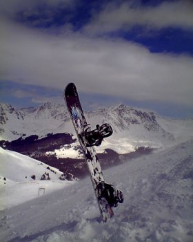 Copper Mountain snowboard