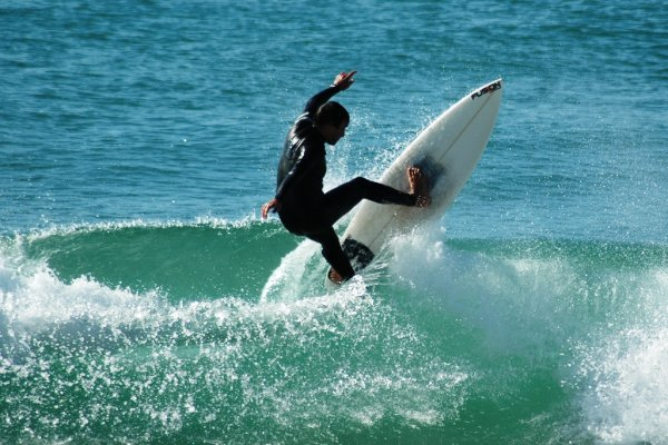 Surfing Portugal