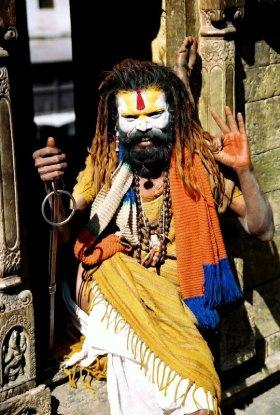 Sadhu at Pashupatinath, Kathmandu, Nepal