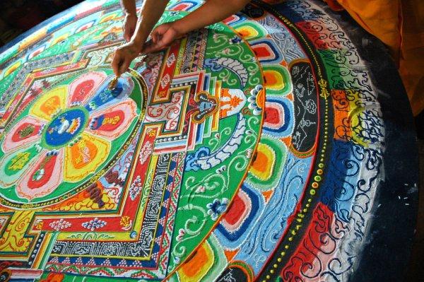 Mandala by His Holiness Dagchen Rinpoche