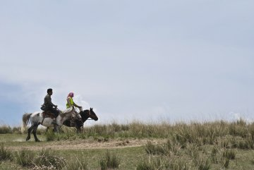 Qinghai nomads