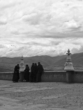 Monks in Ganzi