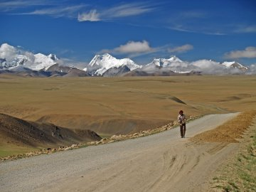 One of Tibet's highest passes