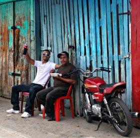 Soda break, Dominican Republic