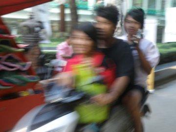 Bangkok motorbike