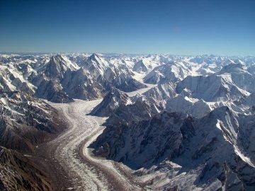Pakistani glacier