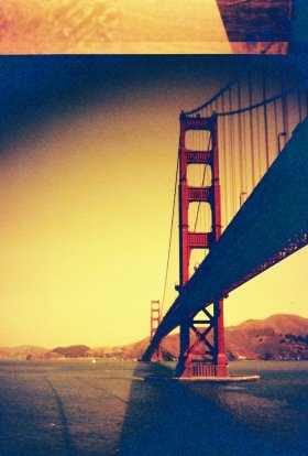 Golden Gate, toy camera