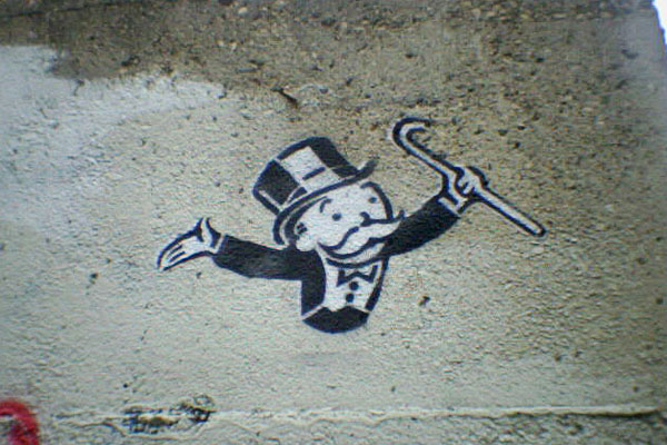 Monopoly graffiti