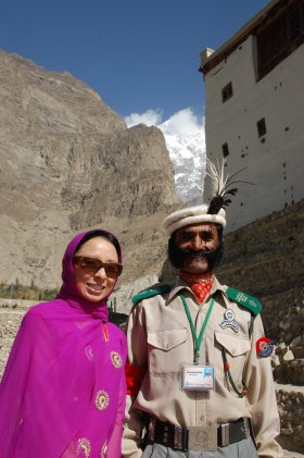 Baltit fort guard, Pakistan