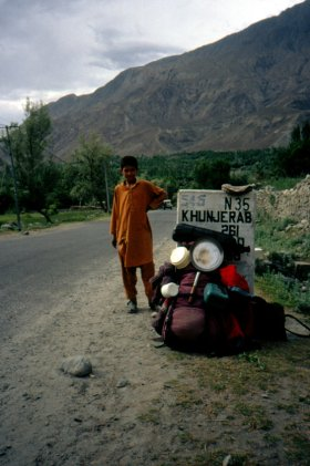 Hitching on the Karakoram Highway