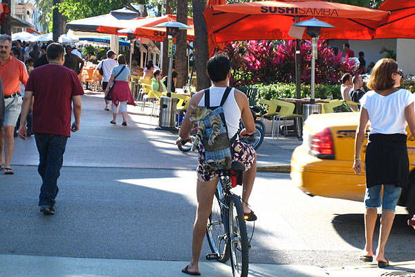 Lincoln Road, South Beach, Miami