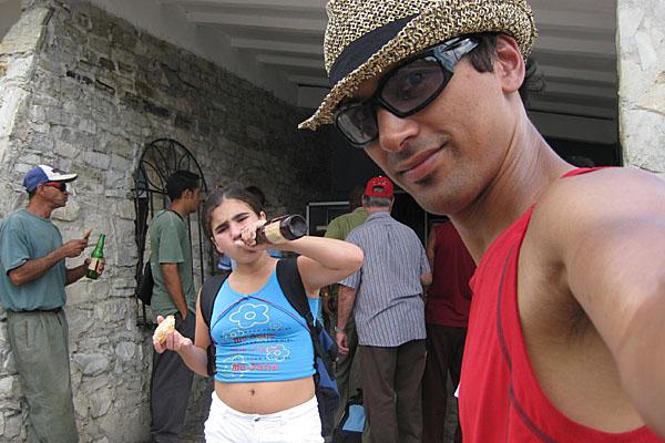 Carlo in Cuba