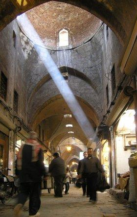 Souq in Aleppo, Syria