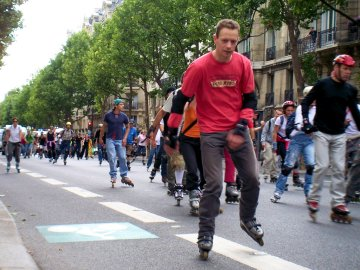 Bladers in Paris