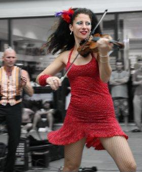 Auckland street musician