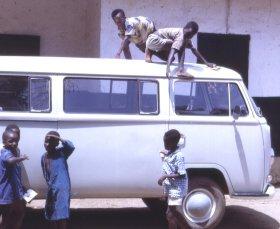 Car wash 2, Kamabai, Sierra Leone (West Africa)