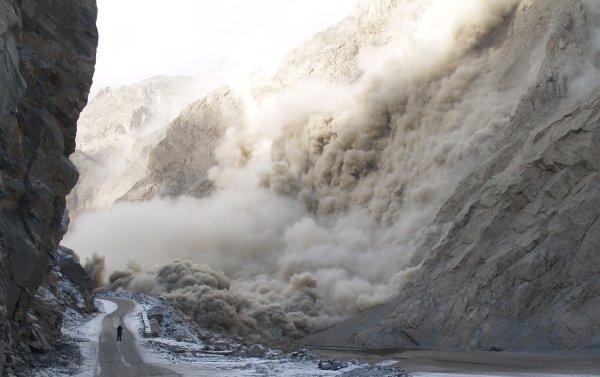 Karakoram landslide