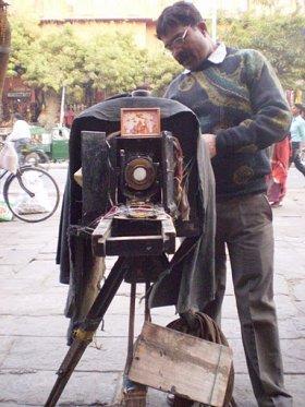 B&W camera, Jaipur