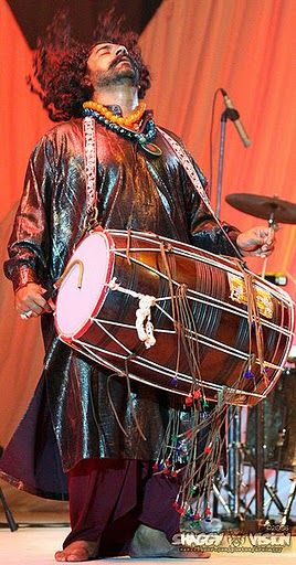 Sufi dhol player