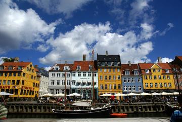El canal Nyhavn