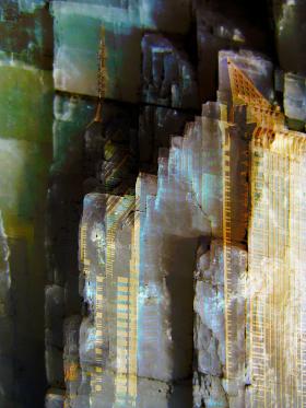 Skyscraper photo montage
