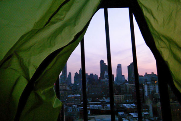 Camping in New York City