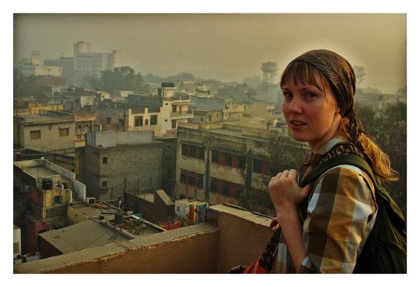 Traveler in India