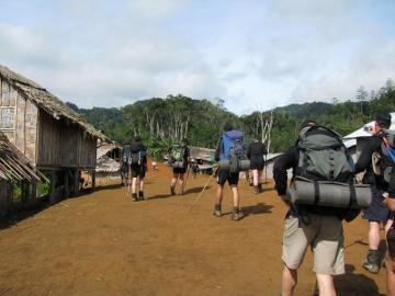 Naduri Village, Kokoda Track, Papua New Guinea