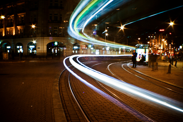 Tram tracers, Amsterdam