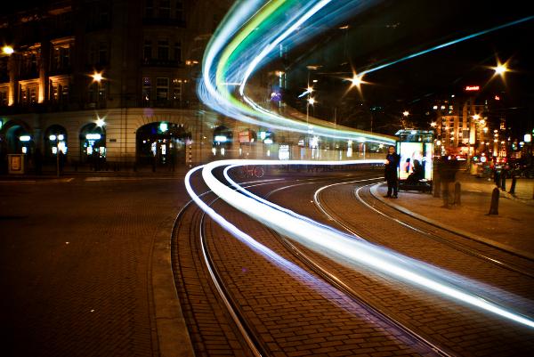 Tram tracers, Amsterdam