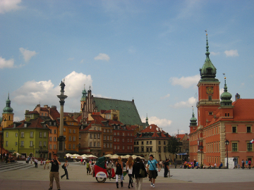 Castle, Warsaw Square