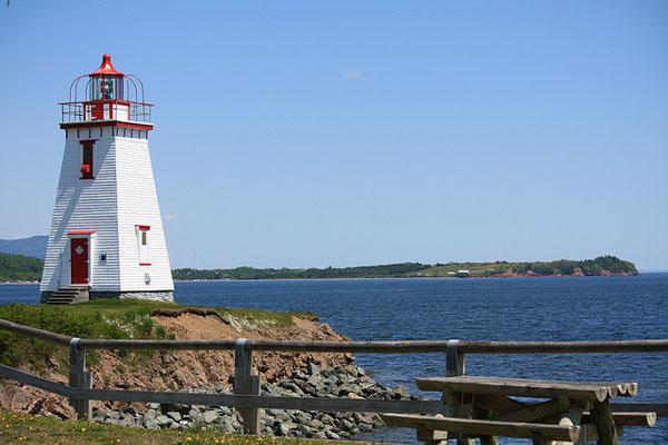 Chaleur Bay lighthouse