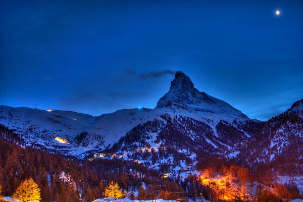 Matterhorn and Venus