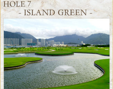 Hong Kong airport golf course