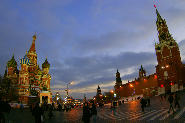 Red Square through a Fisheye