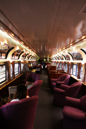 Parlour car, Amtrak