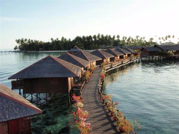 Sipadan Water Village, Mabul, Sabah