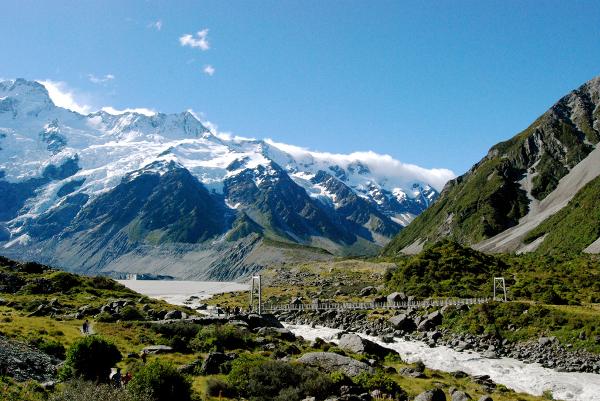 Mt. Cook area, New Zealand