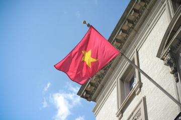 Vietnam embassy flag
