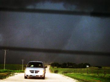 Backseat tornado