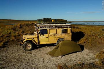 Patagonian camp spot