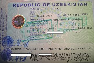 Uzbek visa