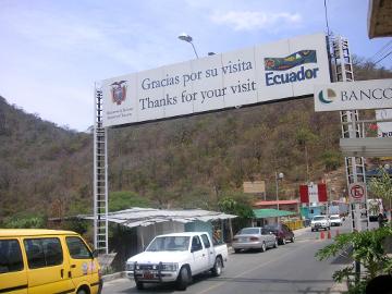 Ecuador border