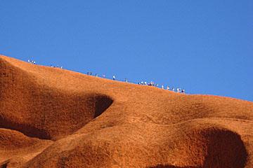 Uluru hikers