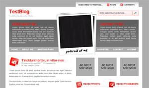 Polaroid wordpress travel theme