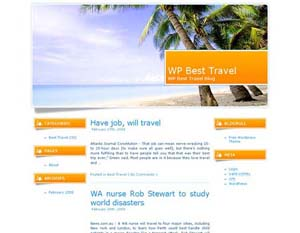 Best Travel wordpress travel theme