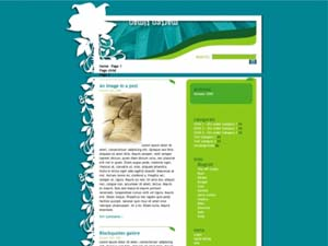 Nature Nouveau wordpress travel theme