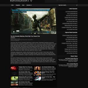 Revolution TV wordpress travel theme