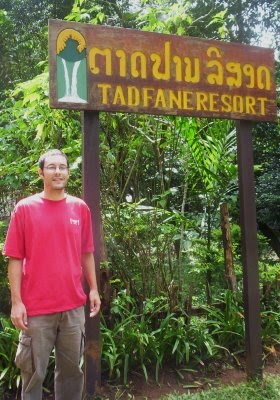 At Tad Fane Ecoresort, Laos
