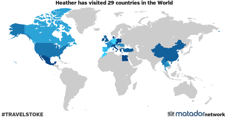 Heather's Travel Map